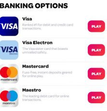 Spin casino banking options