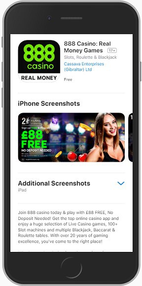 888 casino iphone app