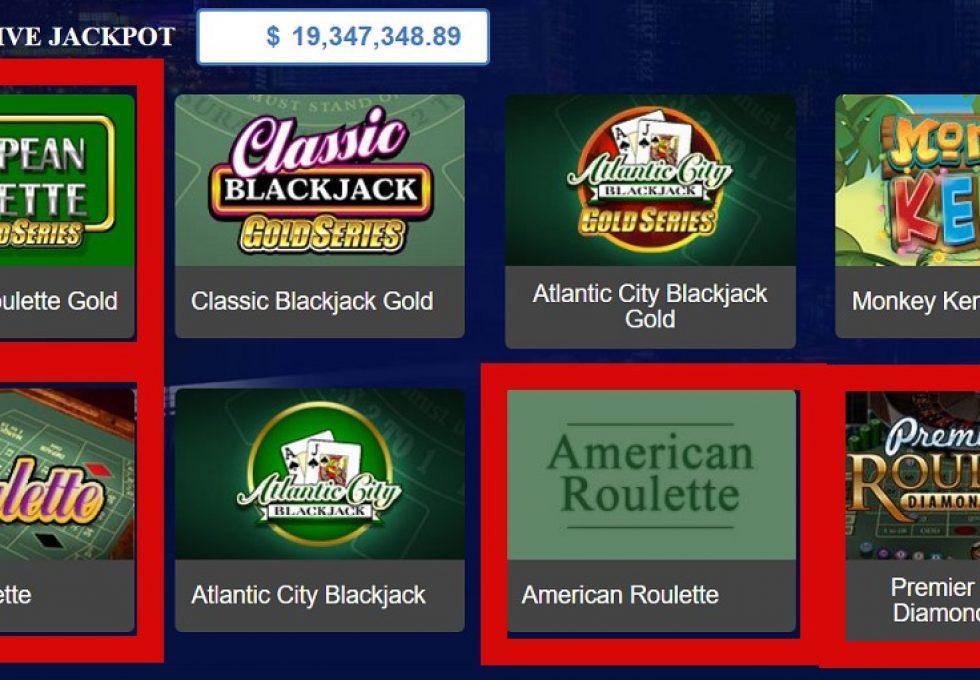 AllSlots casino Roulette games