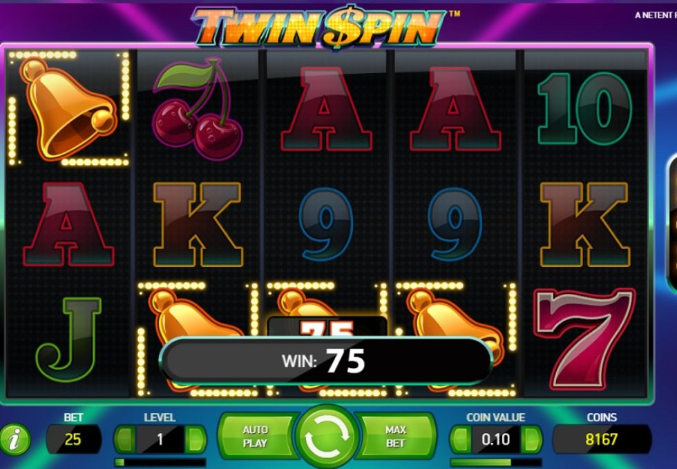 NetEnt TwinSoin Slots at 888 casino