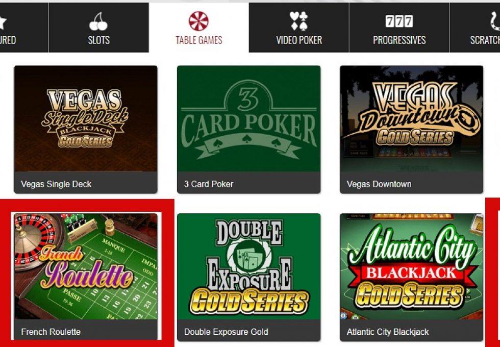 Platinum Play roulette games