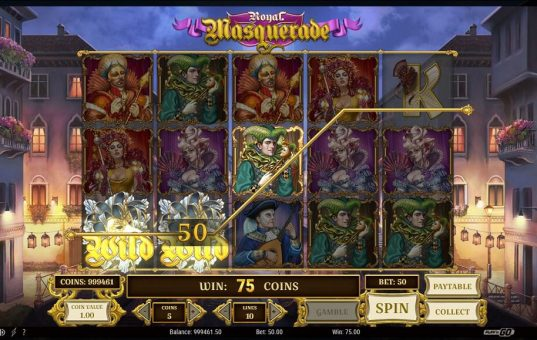 PlayN Go slots Royal Masquerade