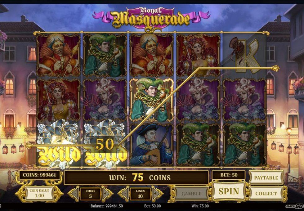 PlayN Go slots Royal Masquerade